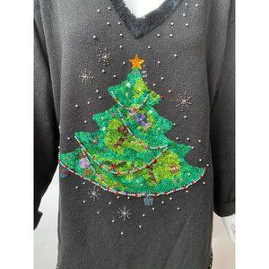 Plus Sized Holiday Sweater 2X